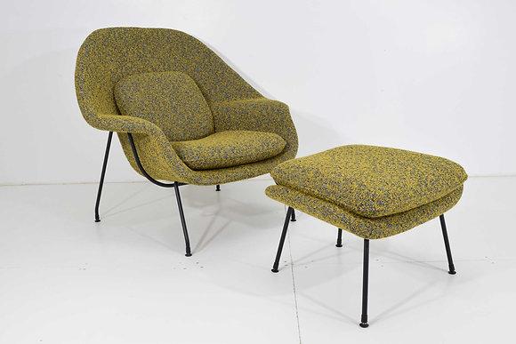 Eero Saarinen for Knoll Womb Chair and Ottoman