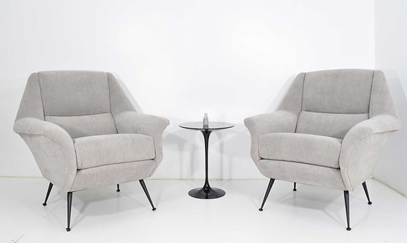 Pair of Gigi Radice Lounge Chairs
