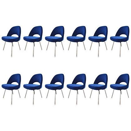 Knoll Eero Saarinen Armless Executive Chair 8 Available in Mohair