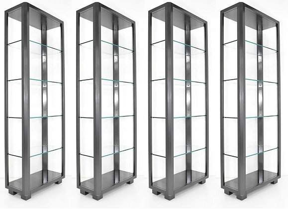 Shelf Units with Glass Shelves
