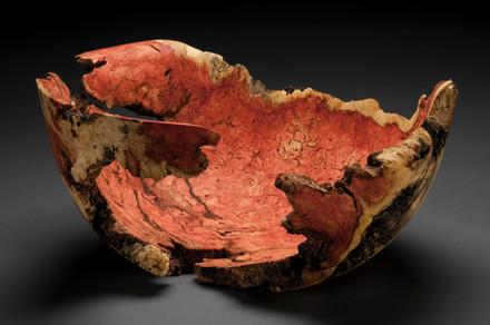 Flame Box Elder void bowl