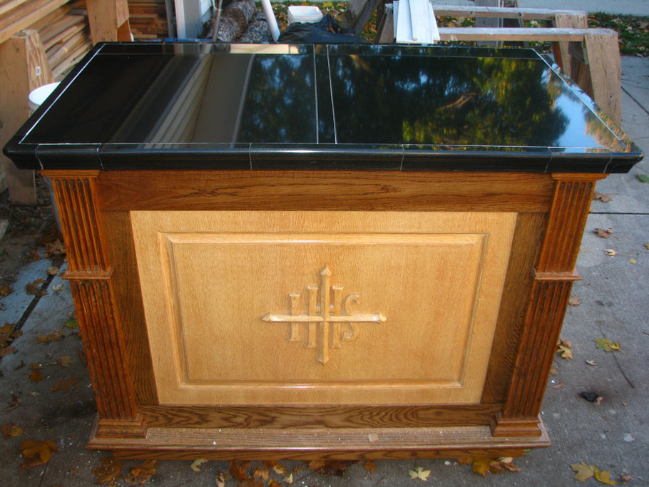 Portable Granite Altar