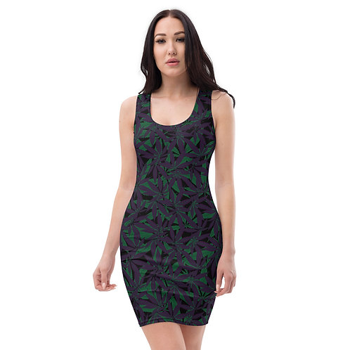Cannabis Camo Dress