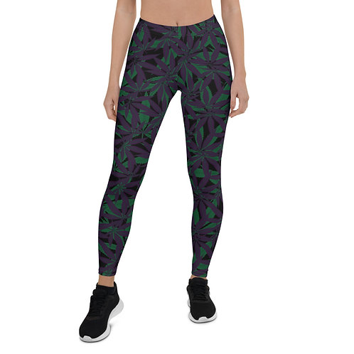 Cannabis Camo Leggings