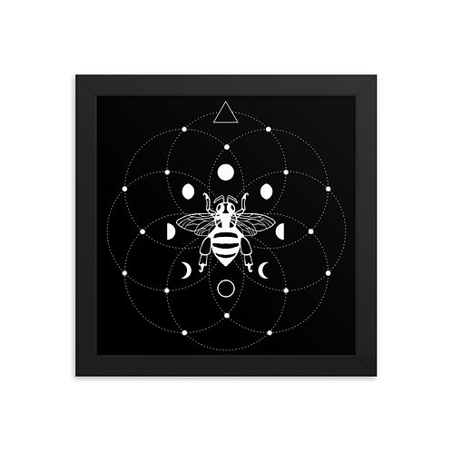 Bee Framed poster