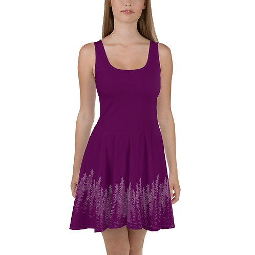 Purple Forest  Dress