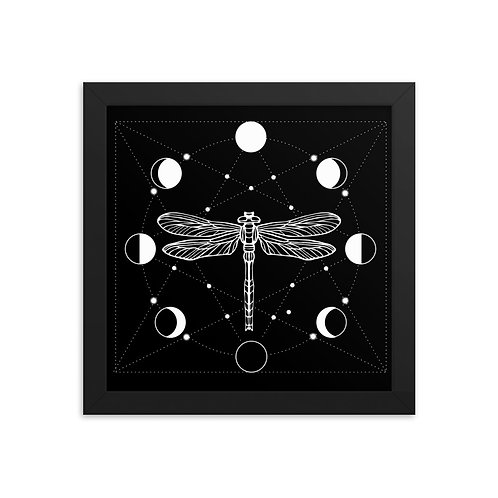 Dragonfly Framed poster