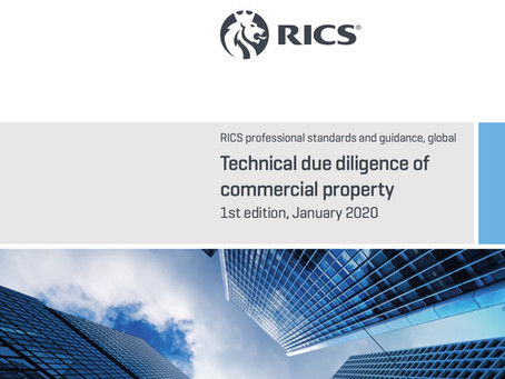 Hot Topic Highlight – RICS Guidance Note Technical Due Diligence of Commercial Property 1st Edition