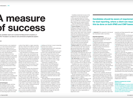 RICS Property Journal - A Measure of Success