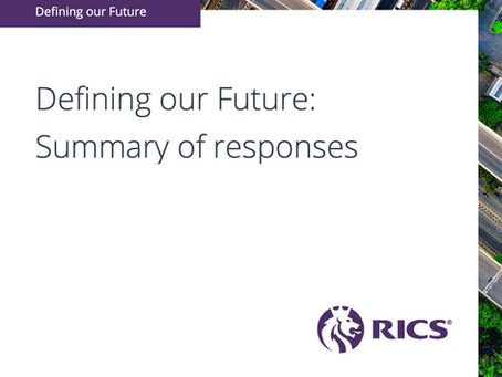 Hot Topic Highlight – RICS Defining our Future Consultation - Summary of Responses