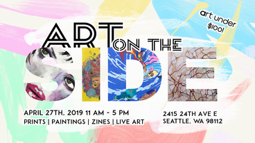 Art on the Side Poster