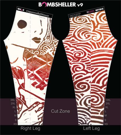 Bombsheller Yoga Pants Design
