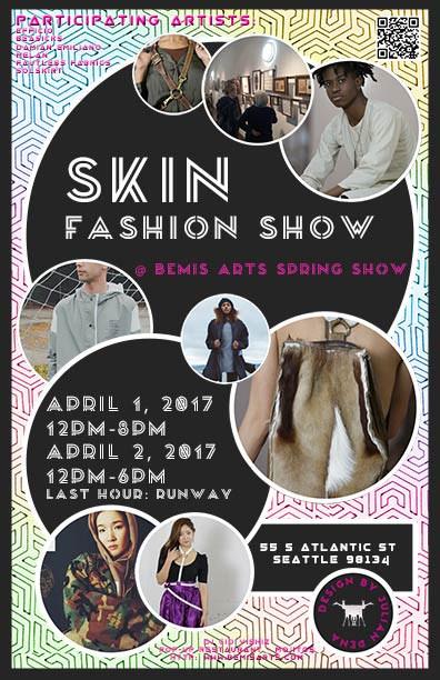 SKINS Fashion Show Poster