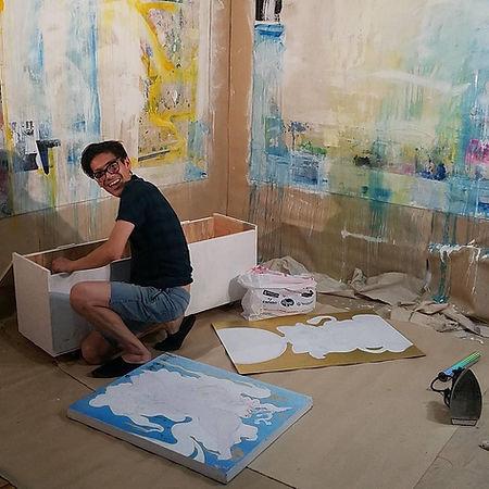 Blue Cone Studio Julian Peña artist art Seattle