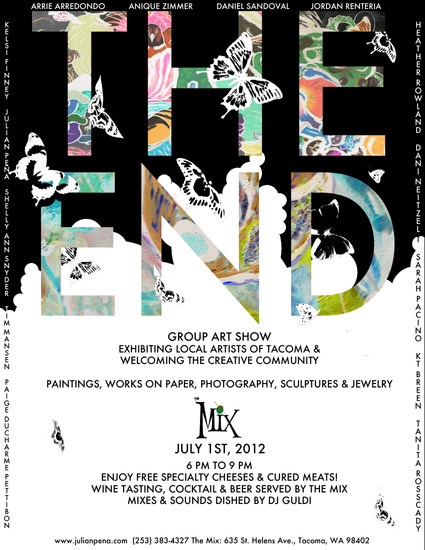 The End Art Show Poster