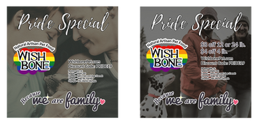Addiction Foods / Wishbone Product for Pride