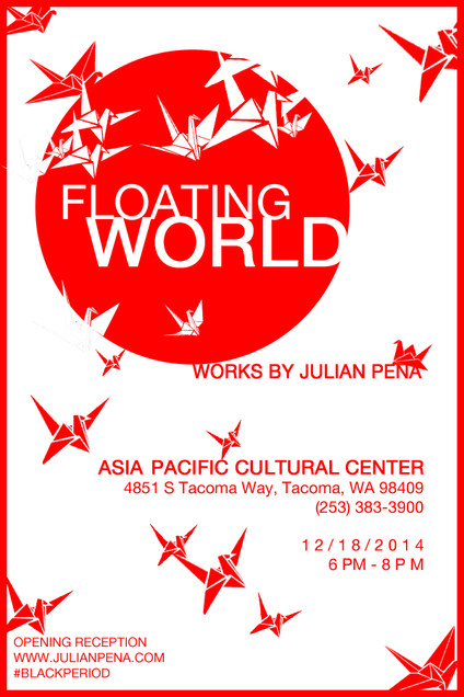 APCC Floating World Art Show Poster