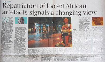 The Restitution of African Art Objects