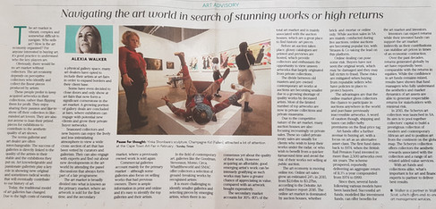 Navigating the Art Market