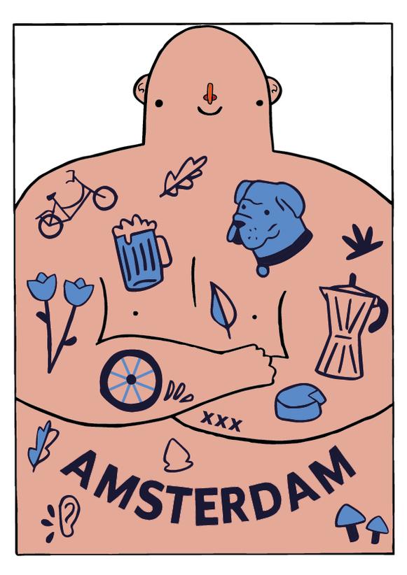 SAM HARRIS 2021- Amsterdam Man
