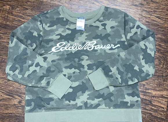 Ladies Medium Eddie Bauer Sweatshirt