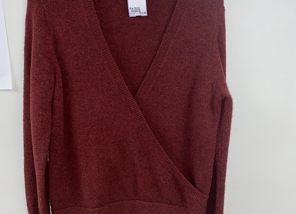 Ladies Small Rust Madewell Sweater
