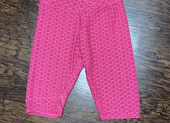 Ladies S/M Pink Biker Shorts