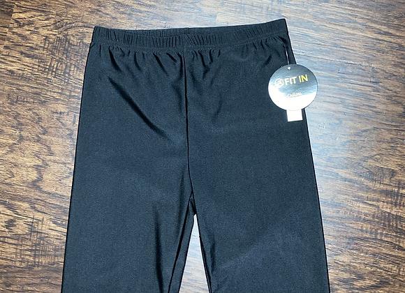 Ladies Small Black Biker Shorts