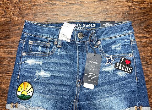 Ladies 2 American Eagle shorts