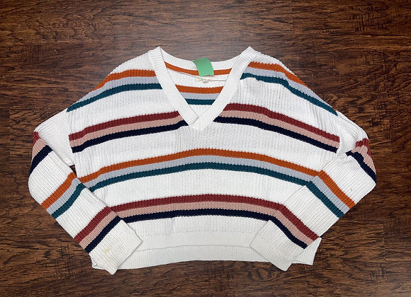 Ladies x-small cropped sweater