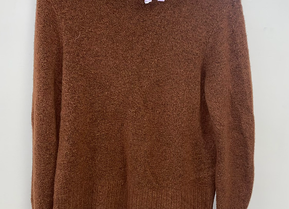Ladies Medium Orange Madewell Sweater