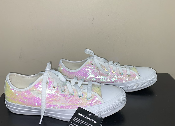 Ladies 7 Sequin Converse
