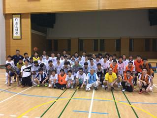 三校ミニサッカー試合2017.7.30