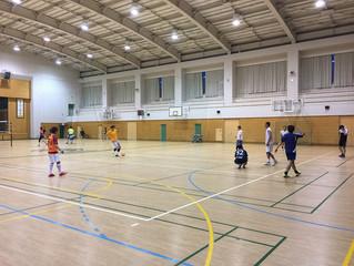 ミニサッカー(修道体育館)