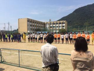 国泰寺高校サッカー部 3回戦で敗退