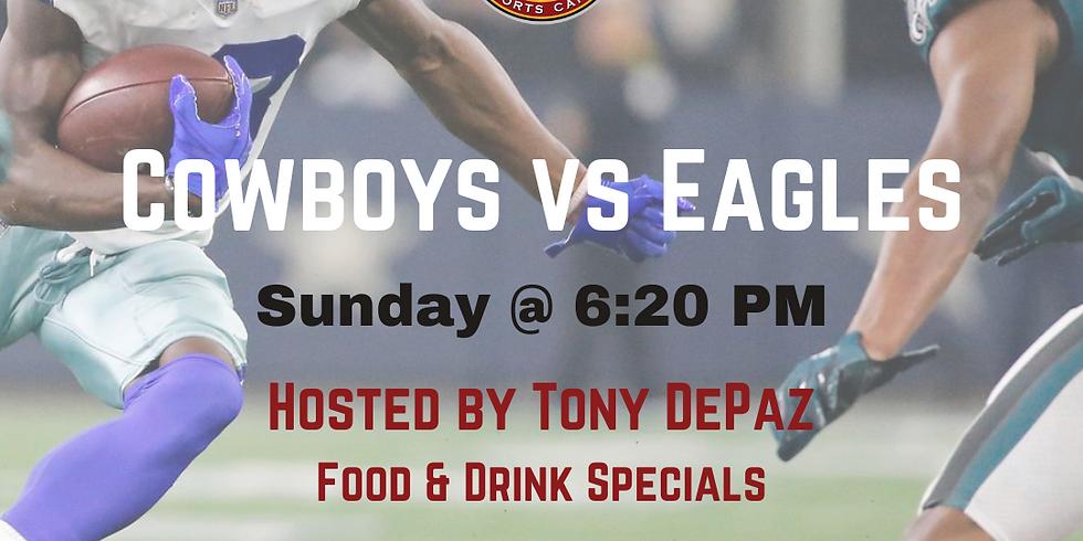 Cowboys vs Eagles Game