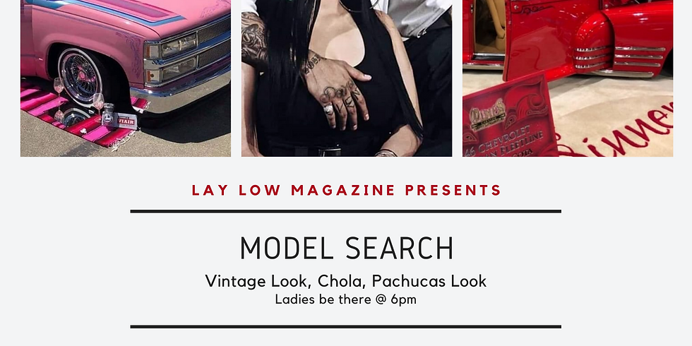 Lay Low Magazine Model Search
