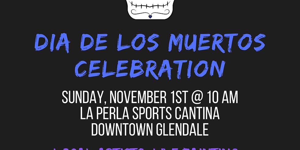 Dia De Los Muertos Celebration - Live Painting