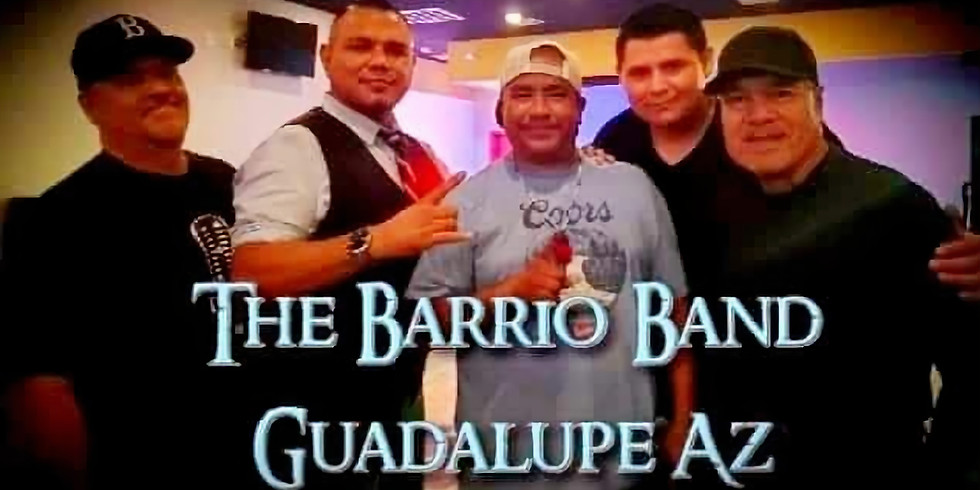 The Barrio Band March 7th 9:30pm