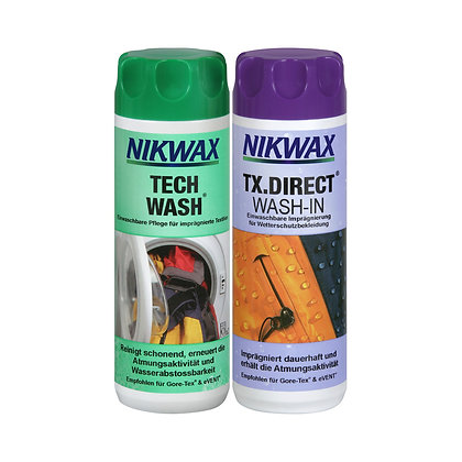 Duo Pack: Tech Wash + TX.Direct Wash-In, je 300 ml