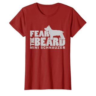 Fear the Beard Mini Schnauzer