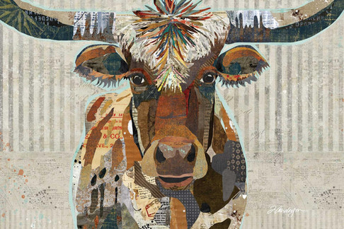Speckled Texas Longhorn