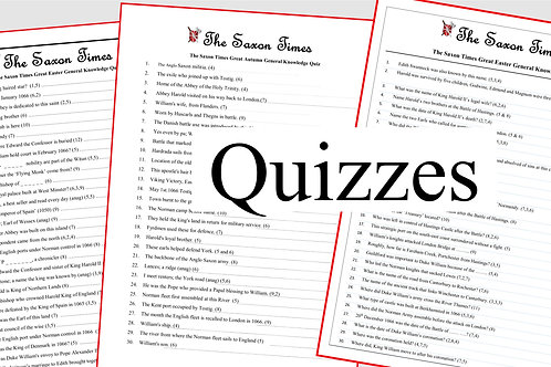 Three Great 1066 Quizzes