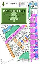 Pine Acre Trails Community Map