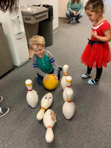 bowling in preschool