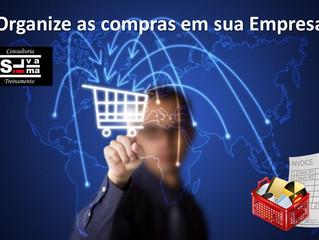Organize as compras em sua Empresa