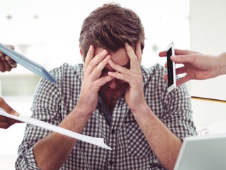 Principais causas de estresse nas pequenas empresas