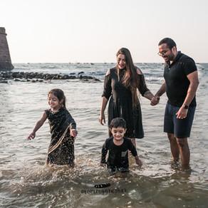 Fun on the beach | Family Photographer in Goa