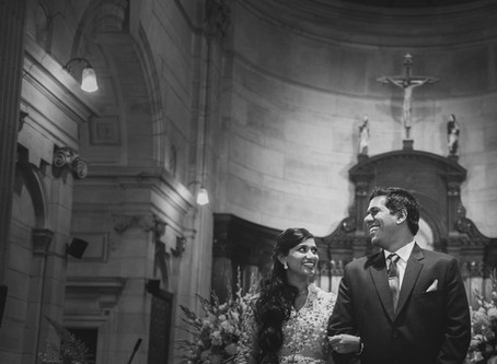 Irene and Rohan ⎟ Christian Wedding in Delhi | Wedding Photographer in Delhi