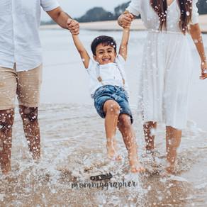 Beach Love | Emotive Family Session in ITC grand Goa
